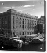 Washington Water Power Post Street Station - Spokane Washington Acrylic Print by Daniel Hagerman