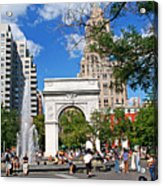 Washingtone Square New York Acrylic Print
