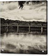 Washingtons Crossing Bridge Acrylic Print