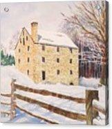 Washington's Grist Mill Acrylic Print