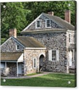 Washington's Headquarters At Valley Forge Acrylic Print