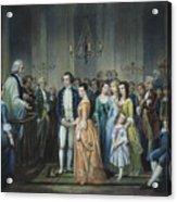 Washingtons Marriage Acrylic Print by Granger