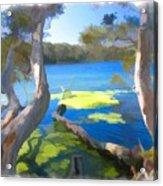 Wat-0002 Avoca Estuary Acrylic Print