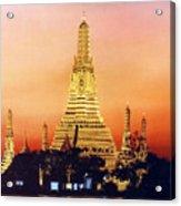 Wat  Aroon Acrylic Print