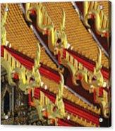 Wat Benjamabophit Acrylic Print