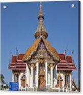 Wat Chaimongkron Phra Wihan Dthcb0088 Acrylic Print
