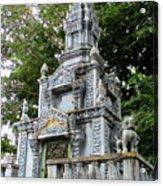 Wat Krom 37 Acrylic Print