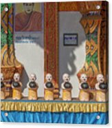Wat Mae Faek Luang Phra Wihan Daily Merit Bowls Dthcm1879 Acrylic Print