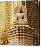 Wat Phra Kaew Acrylic Print