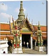 Wat Po Bangkok Thailand 16 Acrylic Print