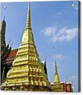 Wat Po Bangkok Thailand 18 Acrylic Print