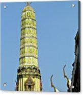 Wat Po Bangkok Thailand 21 Acrylic Print