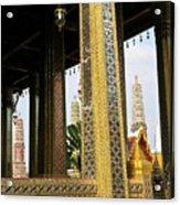 Wat Po Bangkok Thailand 22 Acrylic Print