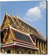 Wat Po Bangkok Thailand 24 Acrylic Print