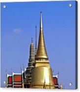 Wat Po Bangkok Thailand 3 Acrylic Print