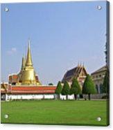 Wat Po Bangkok Thailand 37 Acrylic Print