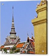 Wat Po Bangkok Thailand 6 Acrylic Print