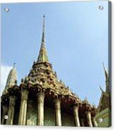 Wat Po Bangkok Thailand 8 Acrylic Print