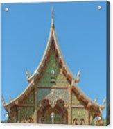Wat Suan Prig Phra Wihan Gable Dthcm2391 Acrylic Print