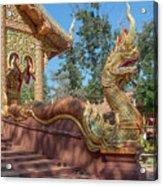 Wat Suan Prig Phra Wihan Makara And Naga Guardian Dthcm2395 Acrylic Print