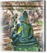 Wat Umong 3 Acrylic Print