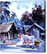 Watar Color Village Acrylic Print