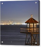 Watch Tower Of The West Acrylic Print