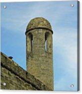 Watch Tower On The Castillo Acrylic Print