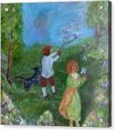 Watching Over The Children Acrylic Print
