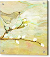 Watching The Clouds No 3 Acrylic Print by Jennifer Lommers