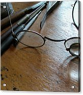 Watchmakers Glasses Acrylic Print