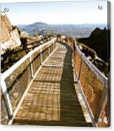 Watchtower Lookout, Ben Lomond, Tasmania Acrylic Print
