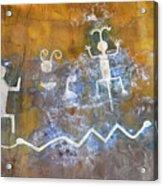 Watchtower Rock Art  Acrylic Print