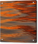 Water Abstract 1 1 14 Acrylic Print