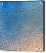 Water Abstract - 3 Acrylic Print