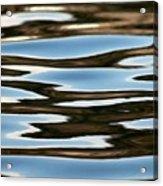 Water Abstract Okanagan Lake Acrylic Print