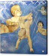 Water Babies Acrylic Print