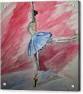 Water Ballerina Acrylic Print