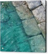 Water Blocks Acrylic Print