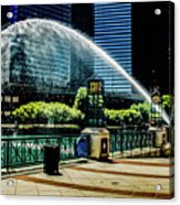 Water Canon In Color Acrylic Print