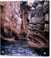 Water Caves - Italy Acrylic Print
