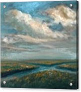 Water Cross Acrylic Print