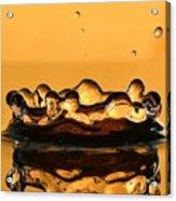 Water Crown Acrylic Print