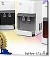 Water Dispenser Singapore Acrylic Print