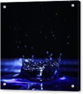 Water Drop Acrylic Print