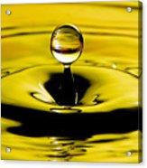 Water Drop Acrylic Print