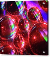 Water Droplets 3 Acrylic Print
