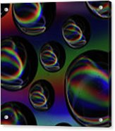 Water Droplets 5 Acrylic Print