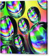 Water Droplets 6 Acrylic Print