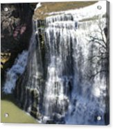 Water Fall In Tennessee  Acrylic Print